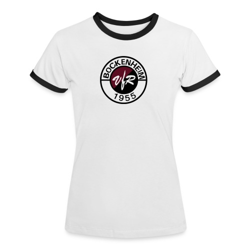 T-Shirt Logo weiß Frauen - Frauen Kontrast-T-Shirt