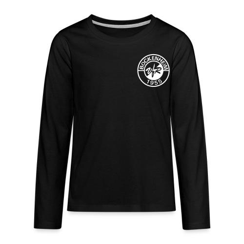 Langarmshirt Kinder Loga - Teenager Premium Langarmshirt