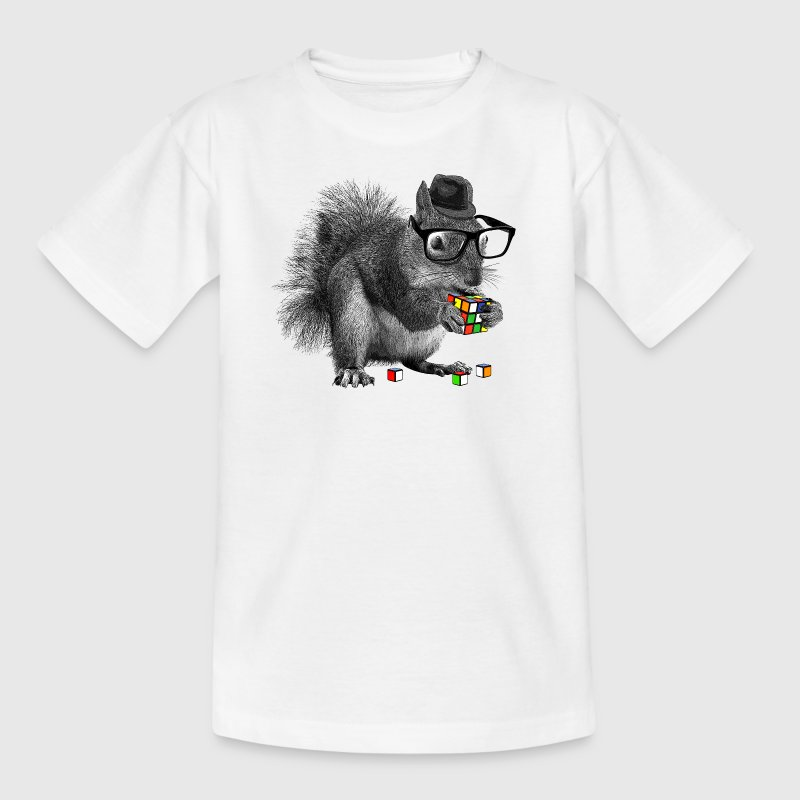 Rubik's Squirrel - Teenage T-shirt
