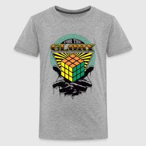 Rubik's For The Glory - T-shirt Premium Ado