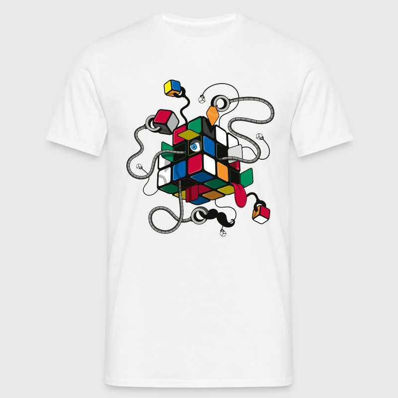 Rubik's Cube Illustration - T-shirt Homme