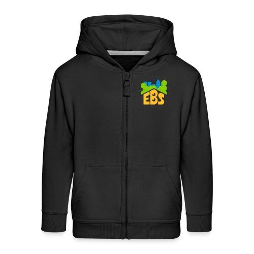 EBS Sweater mit Kapuze Reißverschluss - Kinder Premium Kapuzenjacke