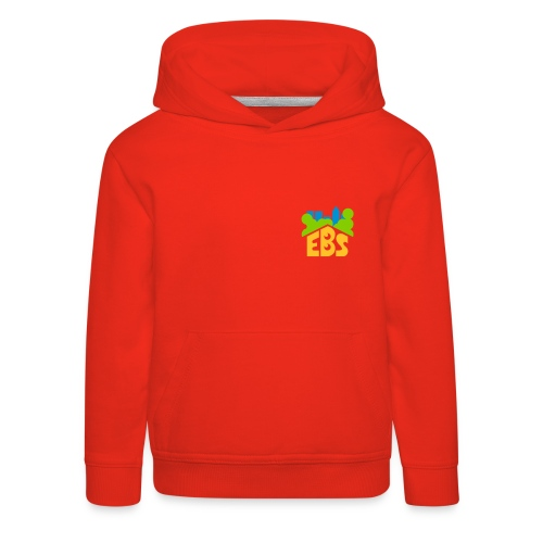 EBS Hoody mit Bauchtaschen - Kinder Premium Hoodie