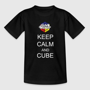 Rubik's Keep Calm - T-shirt Ado