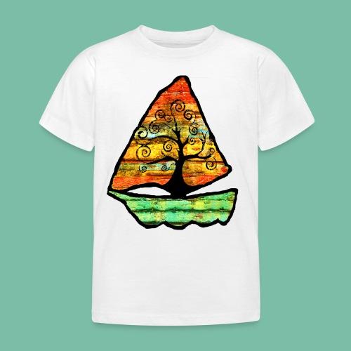 T-shirt enfant bateau arbre Brocéliande Spirit - T-shirt Enfant