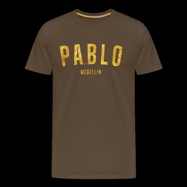 PABLO MEDELLIN GOLD SHIRT