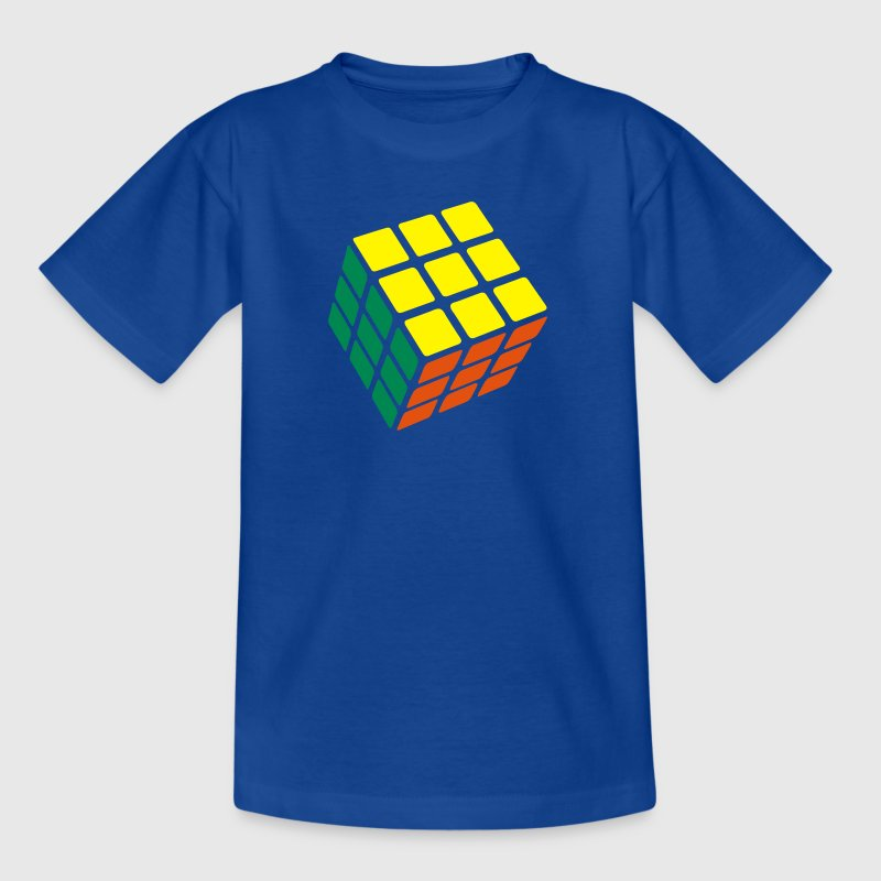 Rubik's Cube Solved - Teenage T-shirt