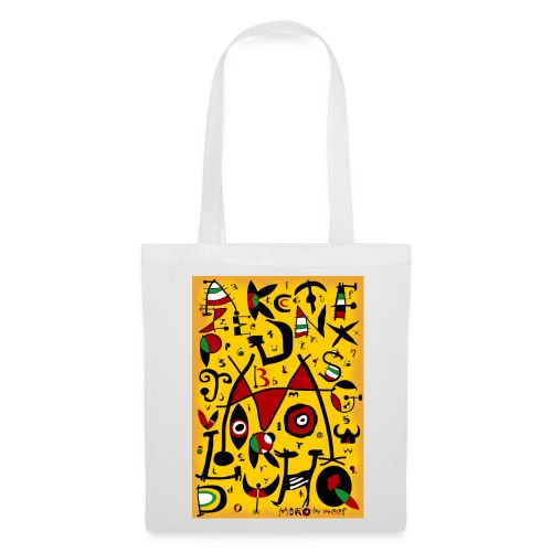 Miro alphabet by weef - Tote Bag