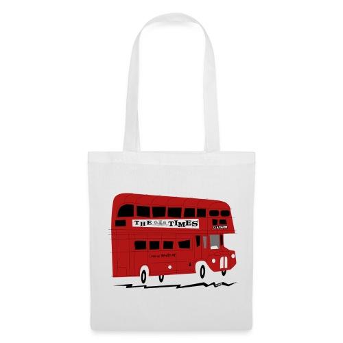 Red London bus - Tote Bag
