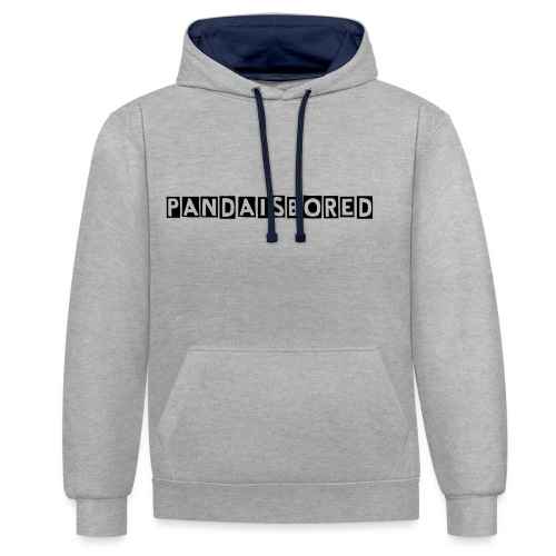 sexy hoody - Contrast Colour Hoodie