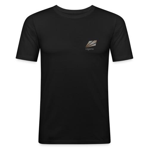 Slim Fit T-Shirt mit Nicknamen - Männer Slim Fit T-Shirt