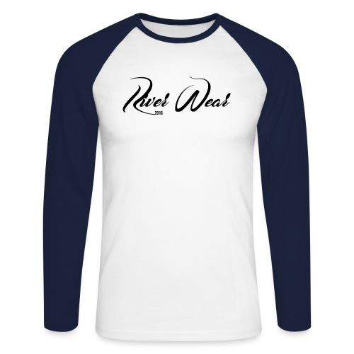 River Wear - Long Sleeve Classic - Långärmad basebolltröja herr