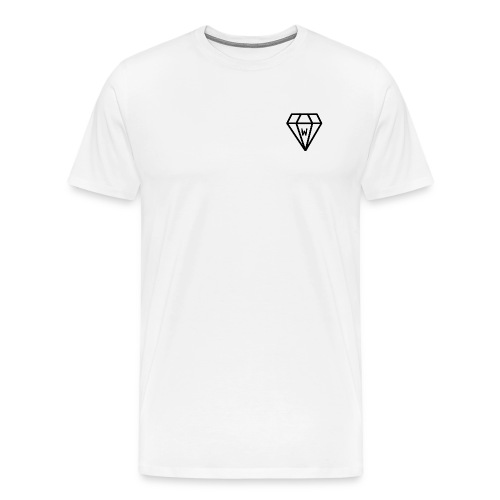 T-shirt White Diamond - T-shirt Premium Homme