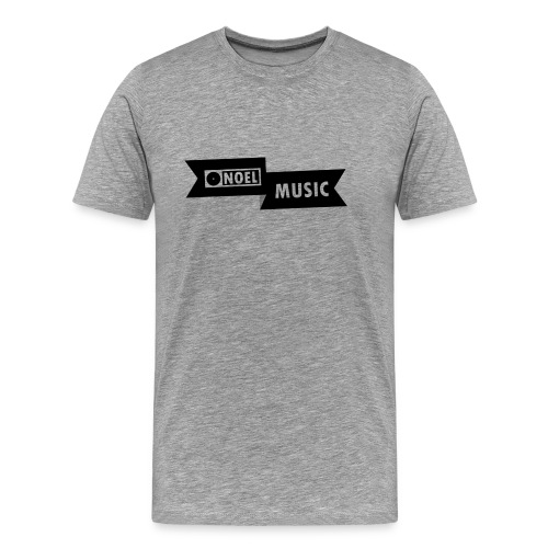 NOEL Music Shirt, Black logo - Men's Premium T-Shirt