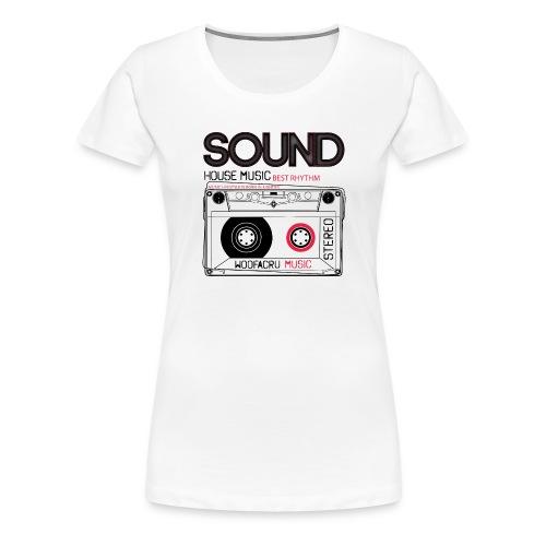 LIFESTYLE WOOFACRU - Frauen Premium T-Shirt
