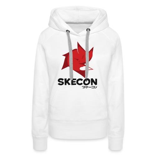 Huvtröja dam SkeCon - Premiumluvtröja dam