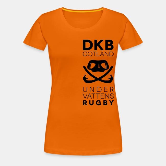 Bottenskraparnas webshop   Lagställ - Dam T-shirt i bomull - Premium ... d7f4066874