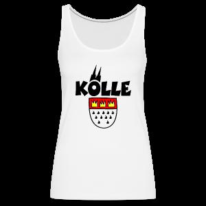 Kölle Wappen Köln Tank Top - Frauen Premium Tank Top