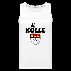 Kölle Wappen Köln Tank Top - Männer Premium Tank Top