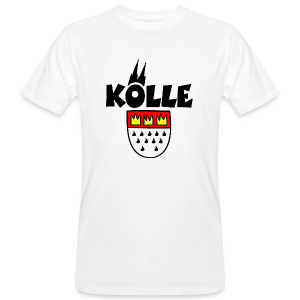 Kölle Wappen Köln Bio T-Shirt - Männer Bio-T-Shirt