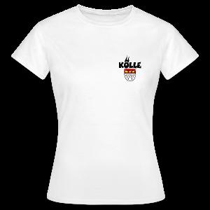 Kölle Wappen Köln T-Shirt - Frauen T-Shirt