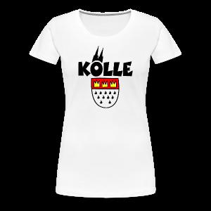 Kölle Wappen S-3XL Köln T-Shirt - Frauen Premium T-Shirt