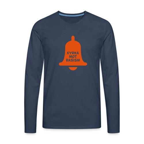 Kyrka mot rasism - Långärmad premium-T-shirt herr