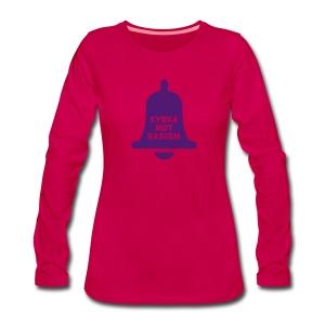 Kyrka mot rasism - Långärmad premium-T-shirt dam