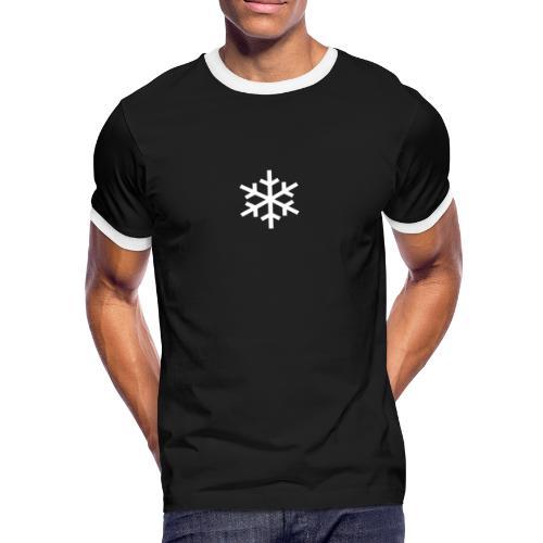 MINUS 9 GRAD - Männer Kontrast-T-Shirt