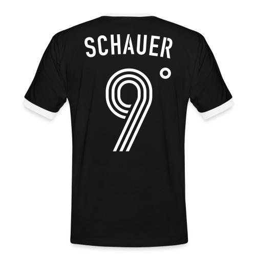 SCHAUER 9 Grad - Männer Kontrast-T-Shirt