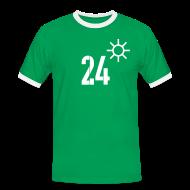 T-Shirts ~ Männer Kontrast-T-Shirt ~ HEITER 24°