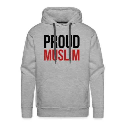 Proud Muslim - Pullover grau - Männer Premium Hoodie