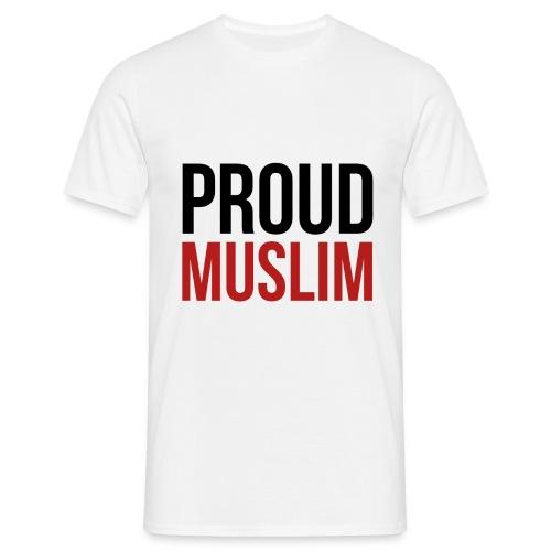 Proud Muslim - Shirt weiß - Männer T-Shirt