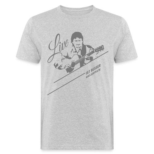 Mike Janipka - Grau *Biobaumwolle* - Männer Bio-T-Shirt