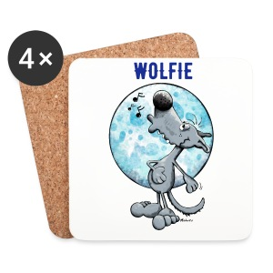WOLFIE OFFICIAL COASTERS (SET OF 4) - Coasters (set of 4)