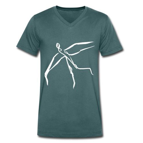 Ikarus 3 - Männer Bio-T-Shirt mit V-Ausschnitt von Stanley & Stella