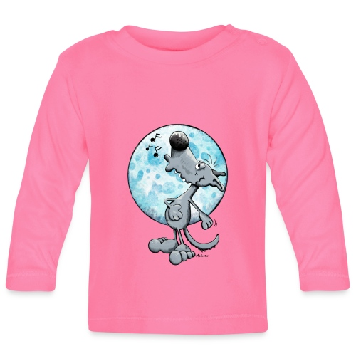 WOLFIE OFFICIAL BABY LONG-SLEEVED TSHIRT - Baby Long Sleeve T-Shirt
