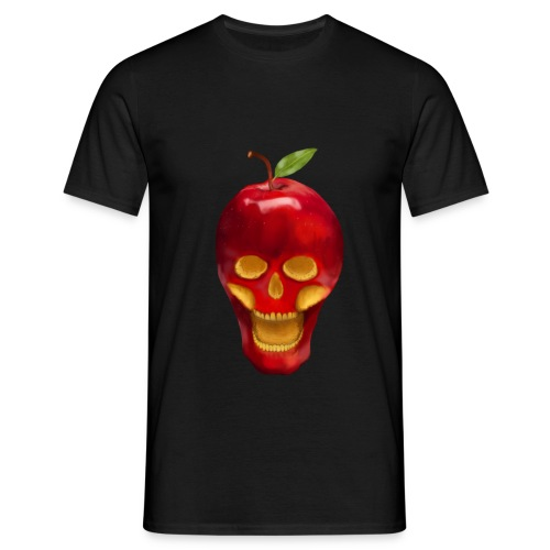 Apple Skull - Männer T-Shirt