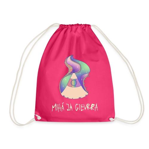 169 x @boisurf Pink, Glow-in-the-dark, Golden Glitter Gym Bag - Drawstring Bag