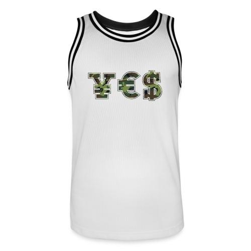 † ¥ € $ † - Men's Basketball Jersey