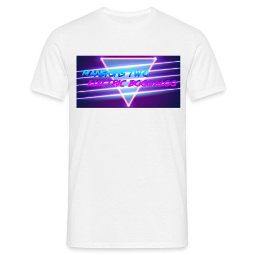 W H I T E T E E  - Men's T-Shirt