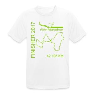 Ziel M Marathon grün - Männer T-Shirt atmungsaktiv