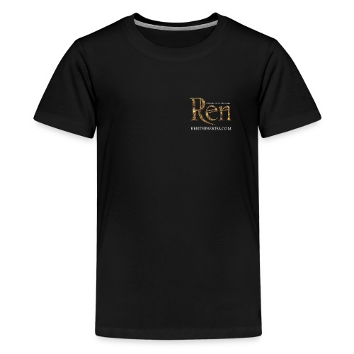 Ren Teenage t-shirt with website - Teenage Premium T-Shirt