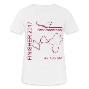 Finisher F Marathon magenta - Frauen T-Shirt atmungsaktiv