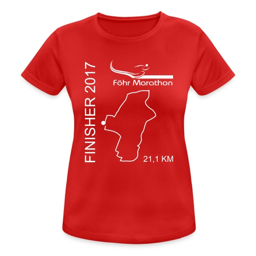 Finisher F HM weiß - Frauen T-Shirt atmungsaktiv
