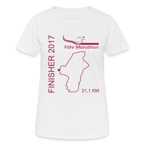 Finischer F HM magenta - Frauen T-Shirt atmungsaktiv