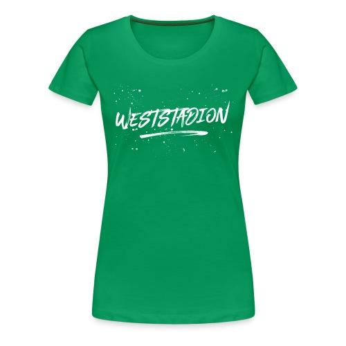 Weststadion  - Frauen Premium T-Shirt
