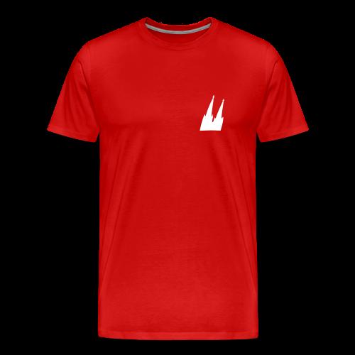 Kölner Dom (Schräg) S-5XL T-Shirt  - Männer Premium T-Shirt