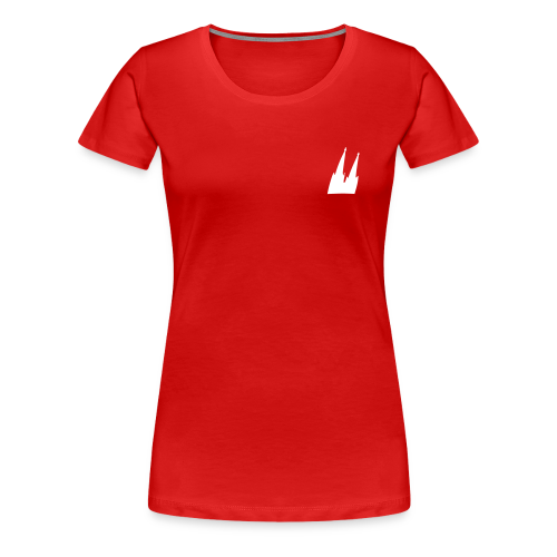 Kölner Dom (Schräg) S-3XL T-Shirt - Frauen Premium T-Shirt