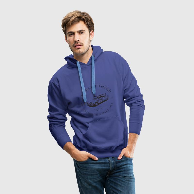 CITROEN AMI 6 FRENCH CAR Sweat-shirts - Sweat-shirt à capuche Premium pour hommes